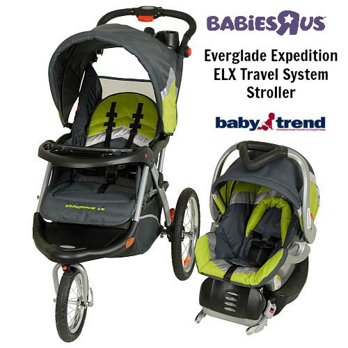 Baby Trend Expedition Elx Travel System Stroller Everglade