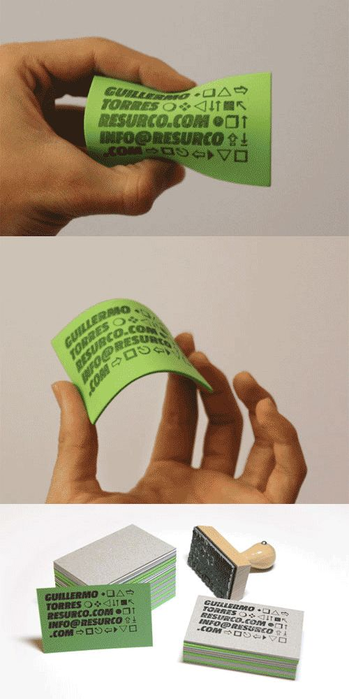 Best 25+ Stamped business cards ideas on Pinterest | Business ...