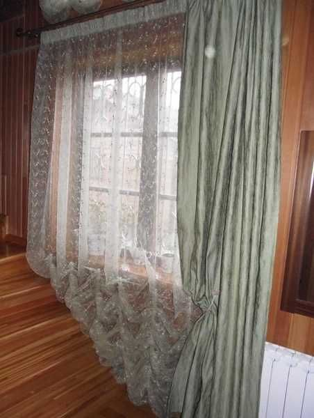 shear curtain fabric