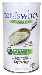 Grass Fed Organic Whey Protein - Organic Plain Unsweetened
