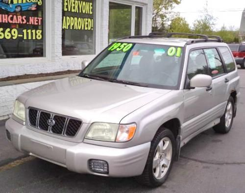 2001 Subaru Forester S 950 Awd Suv For Sale Under 1000 Near