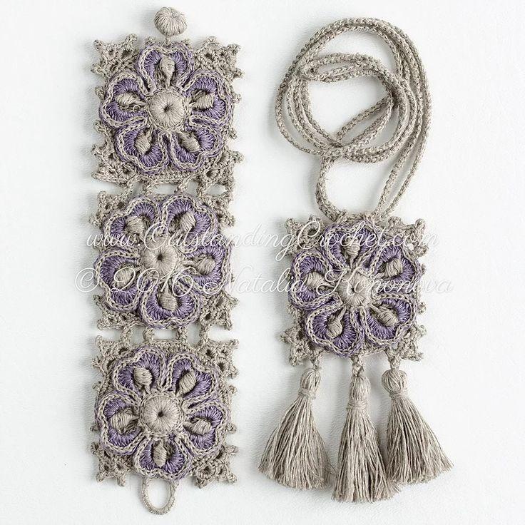 Wild Geranium Bracelet and Necklace