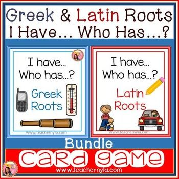 Greek And Latin Roots Game 84