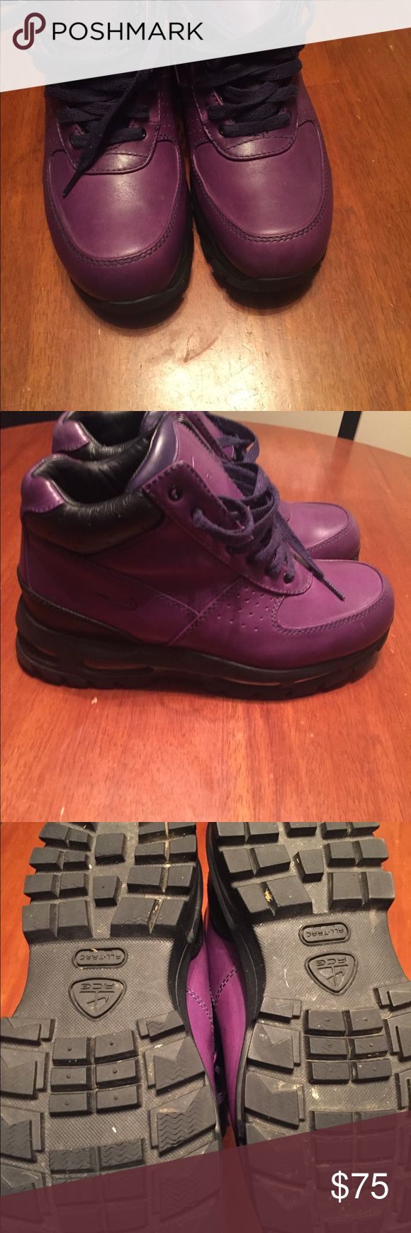 Nike boots for men Purple Nike acg men boots size8.5 Nike ACG Shoes Boots