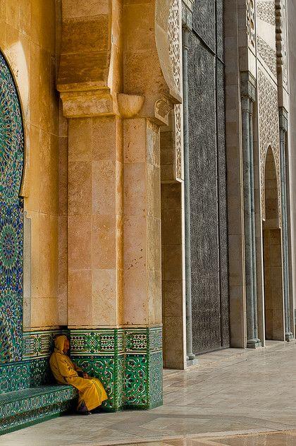 Morocco. Casablanca مسجد الحسن التاني . الدار البيضاء