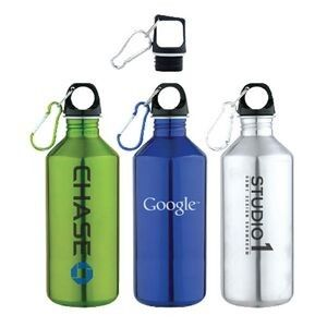Get Promotional Slim Neck Stainless Steel Water Bottle w/ Carabiner imprinted with your company name or logo online at House of Imprints. Buy imprinted merchandise in bulk and show off your brand! Keep visiting for new collection Houseofimprints.com