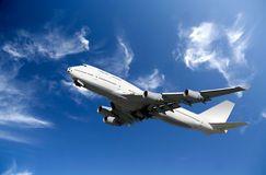 Boeing Airplane Royalty Free Stock Photos