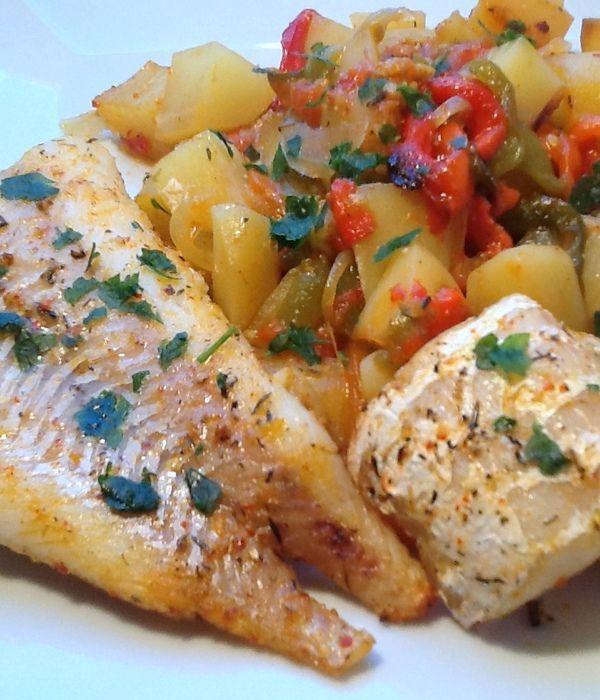 Ψάρι, εύκολο, στον φούρνο με αρωματικά