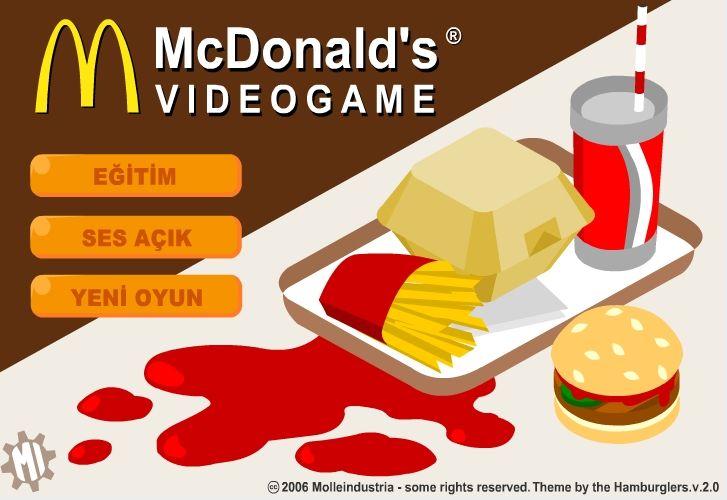Dünyaca ünlü fast-food restoranlar zinciri McDonald's şirketini yöneteceğiniz bir beceri oyunu oynamaya ne dersiniz ?  http://www.garajoyun.com/mcdonald-s-oyunu.html