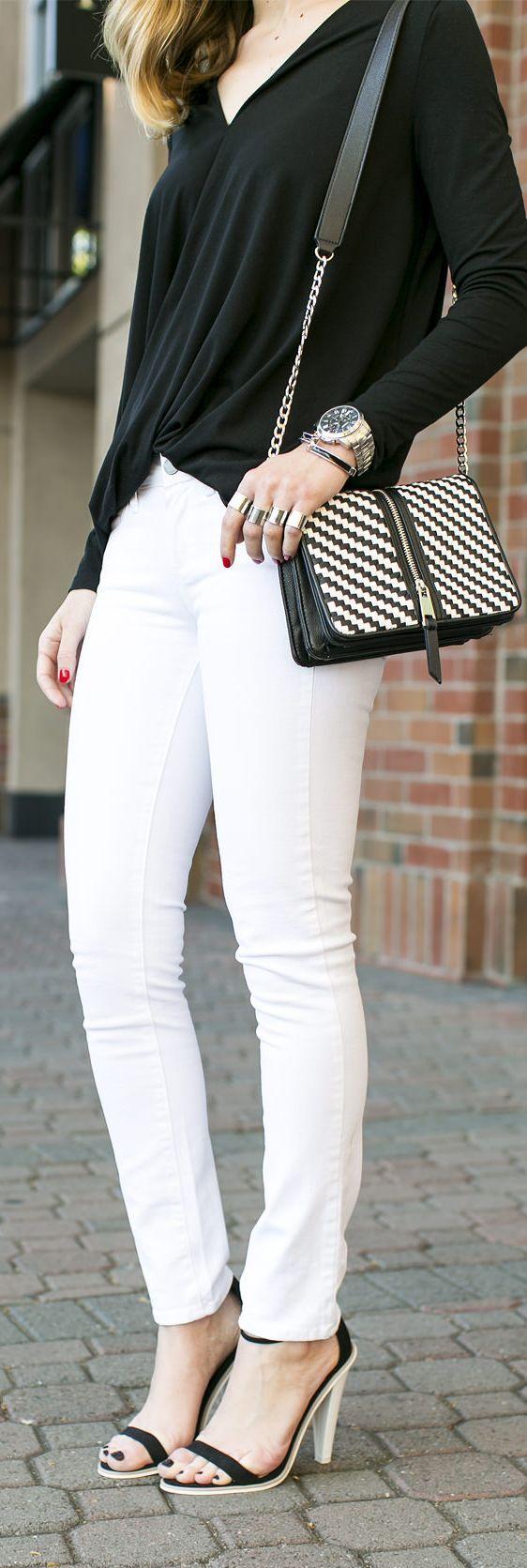 Paige Denim White Slim Ankle Grazer Jeans                                                                             Source