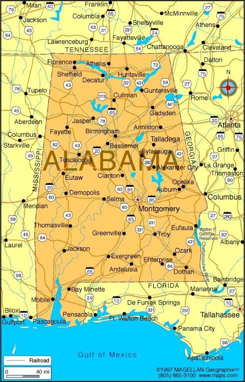 Best Alabama The Beautiful Maps Images On Pinterest Sweet - Alabama state on us map