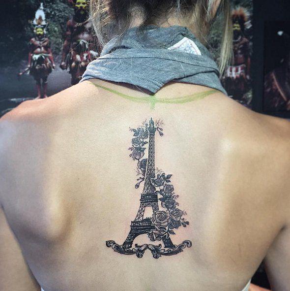 Paris Tattoos   POPSUGAR Beauty