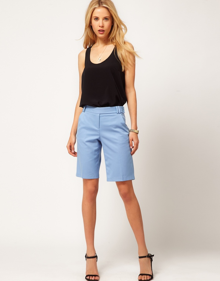 ASOS Smart Shorts In Longer Length  FROM $26.10Longer Length, Smart Shorts, Asos Smart, Summer Shorts