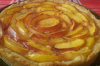 Schneller Pfirsich/Nektarinen-Kuchen