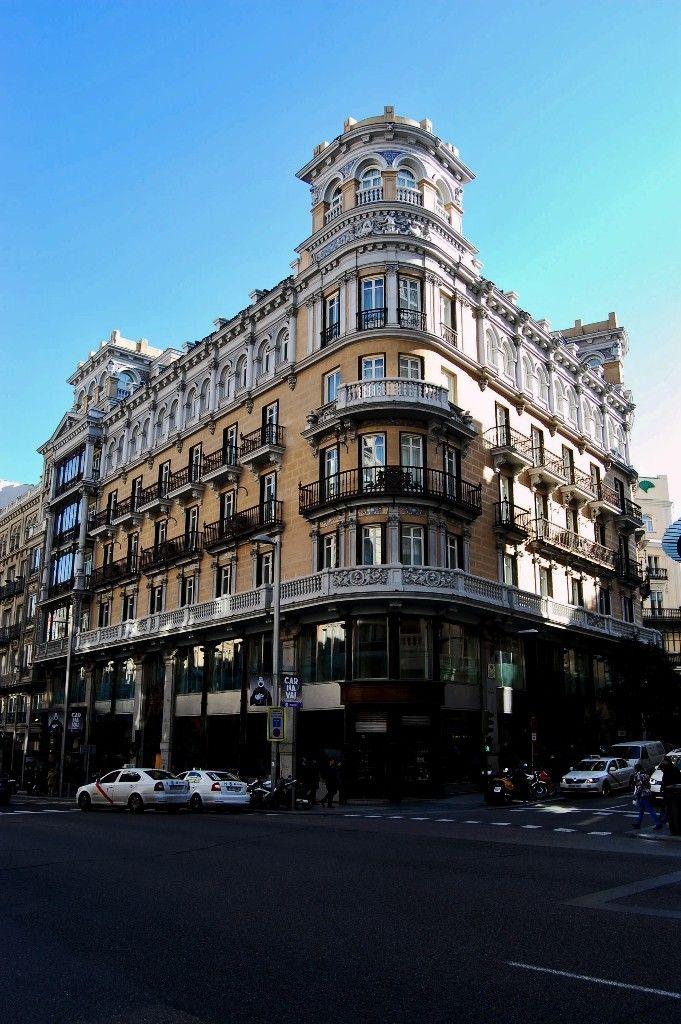Edificios emblem ticos de la gran v a de madrid primer - Hotel el quijote madrid ...