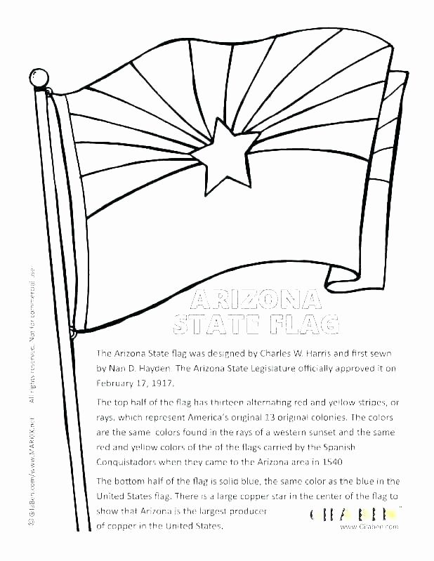 Turkey Flag Coloring Page Best Of Arizona Coloring Page