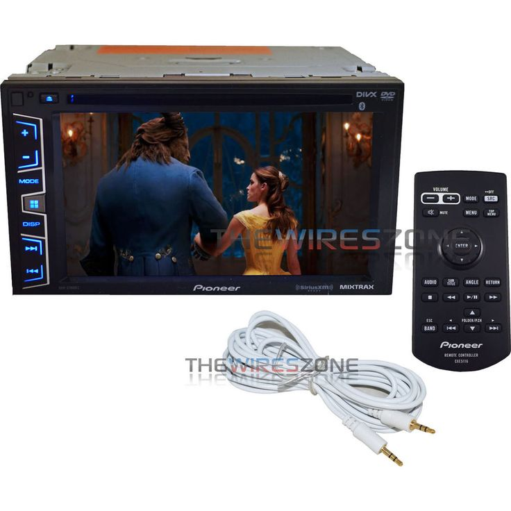 "Pioneer AVH-X390BS Double DIN 6.2"" Bluetooth SiriusXM DVD Car Stereo + FREE AUX #Pioneer"