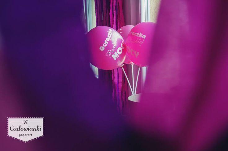 Bachelorette party decorations, bridal shower decorations.