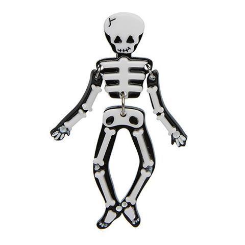 Funny Bones Brooch