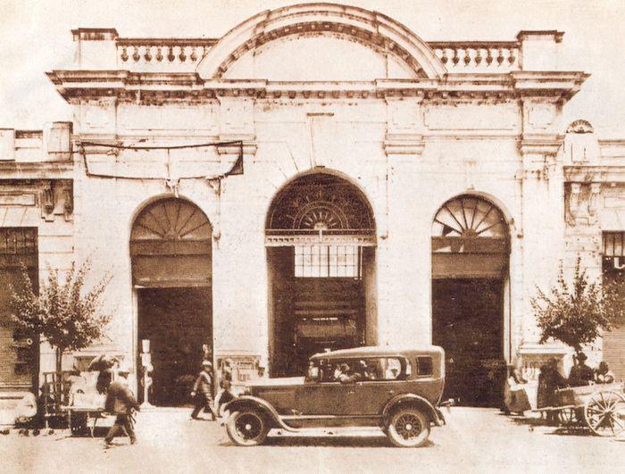 TALCA: Mercado Central, 1928