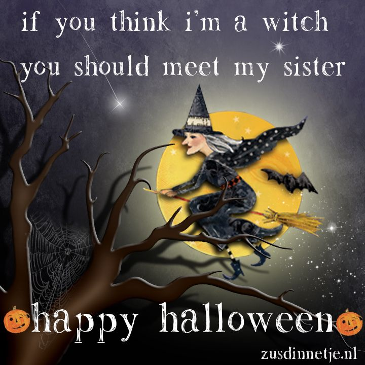 Happy Halloween Quotes Funny: Funny Happy Halloween Picture With Sister Related Quote