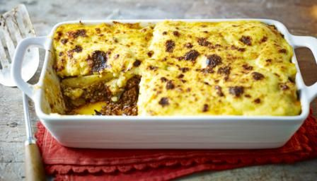 Moussaka, recipe from the Hairy Bikers