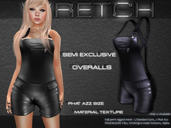 :: Wretch :: Overalls - Semi Exclusive Full perm