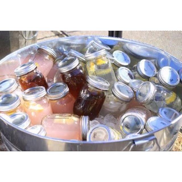 Mixed summer drinks-party idea