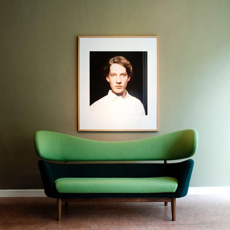 The Baker Sofa was designed in 1951 by Danish designer Finn Juhl. - Google Search