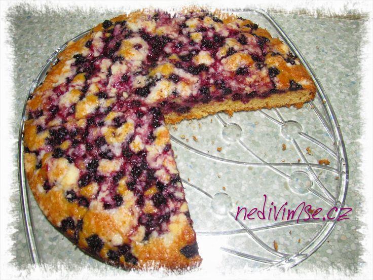 Ostružinový koláč