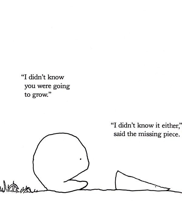 The Missing Piece Meets the Big O: Shel Silverstein's Sweet Allegory for the Simple Secret of Love and the Key to Nurturing Relationships – Brain Pickings