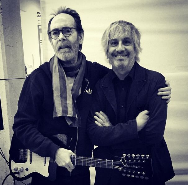 via Instagram |  leeranaldo 3 hours ago · Select Fair West 22 Street Reunion w Arto Lindsay at Select Fair. DNA was one of the reasons I came to NYC. We first played together in 1981 in a band called Toy Killers. Foto by Leah