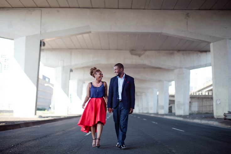Downtown Toronto Engagement session by Samantha Clarke