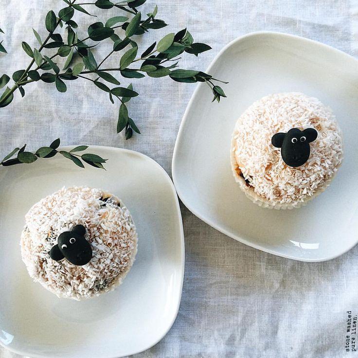 """Gefällt 549 Mal, 46 Kommentare - Franziska • summerbaby '18 🍼 (@nohi.loves.eli) auf Instagram: """"...die Osterlämmchen-Muffins #shaundasschaf 😜 habe ich übrigens heute in der Stadt gesehen und…"""""""