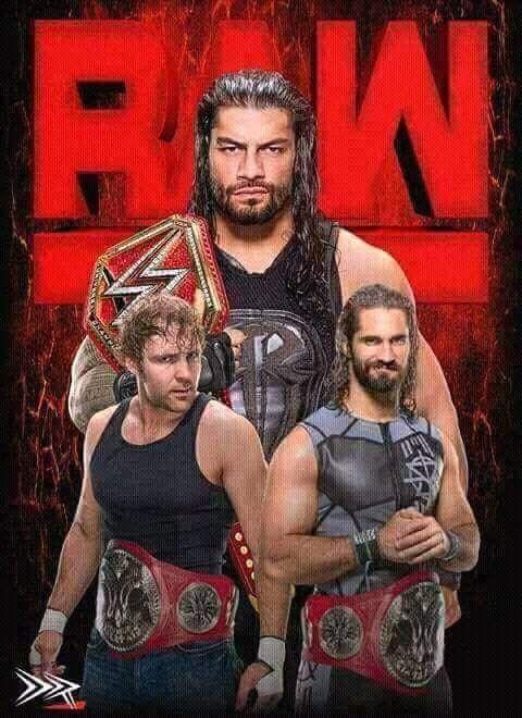 Dean Ambrose, Seth Rollins & Roman Reigns