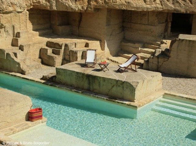 Les 25 meilleures id es de la cat gorie piscine lagon sur for Liner piscine turquoise