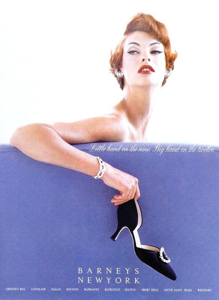 Linda Evangelista for Barneys New York 1990s, photo Steven Meisel