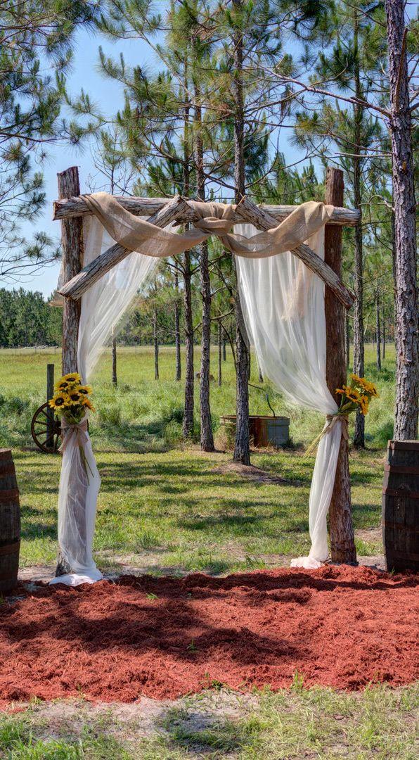 Die Schonsten Ideen Mit Sonnenblumen Zur Hochzeit Bogen Hochzeit Hochzeitsbogen Sonnenblumen Hochzeit