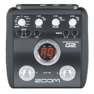 Zoom G2 Guitar Effects Pedal with Drum Machine,