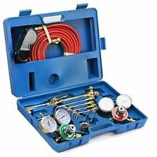 New Oxy Acetylene Welding Cutting Torch Kit Victor Compatible Premium Quality