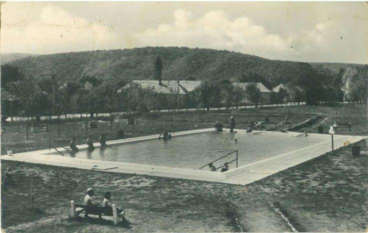 1960as èvek termál fürdő Bogács