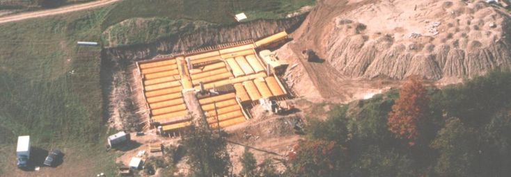 Man buries 42 school buses to build North America's largest nuclear fallout shelter