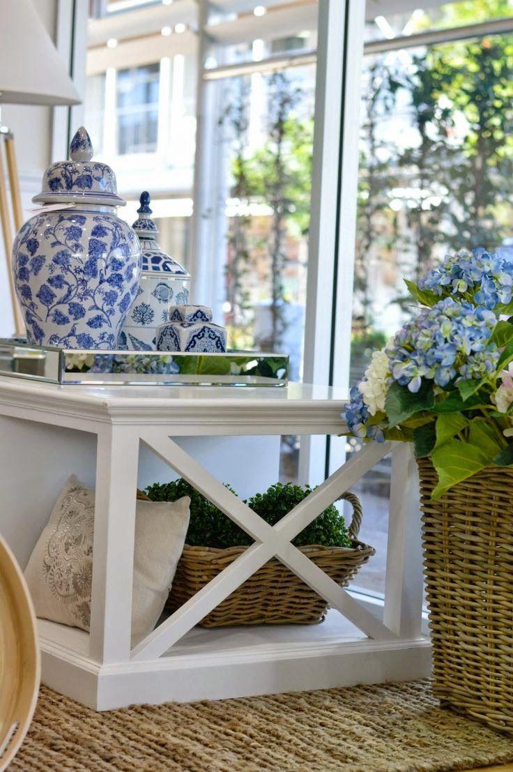 Blue and White Chinese Porcelain Vases & Ginger Jars                                                                                      ...