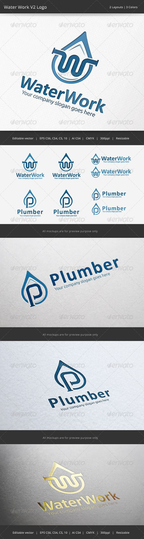 17 best Plumbing logo images on Pinterest | Carte de visite ...