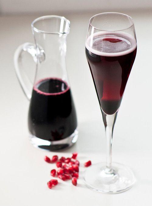 Sirop de vin rouge aux épices pour kir mousseux réinventé Recettes | Ricardo