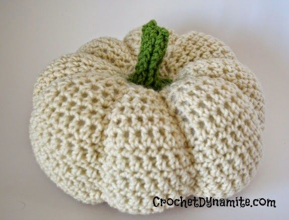 #Crochet pumpkin free pattern from @crochetdynamite