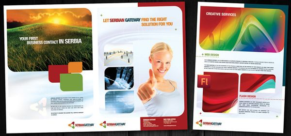 Beautiful Corporate Brochure Design Ideas / Examples | Graphic ...