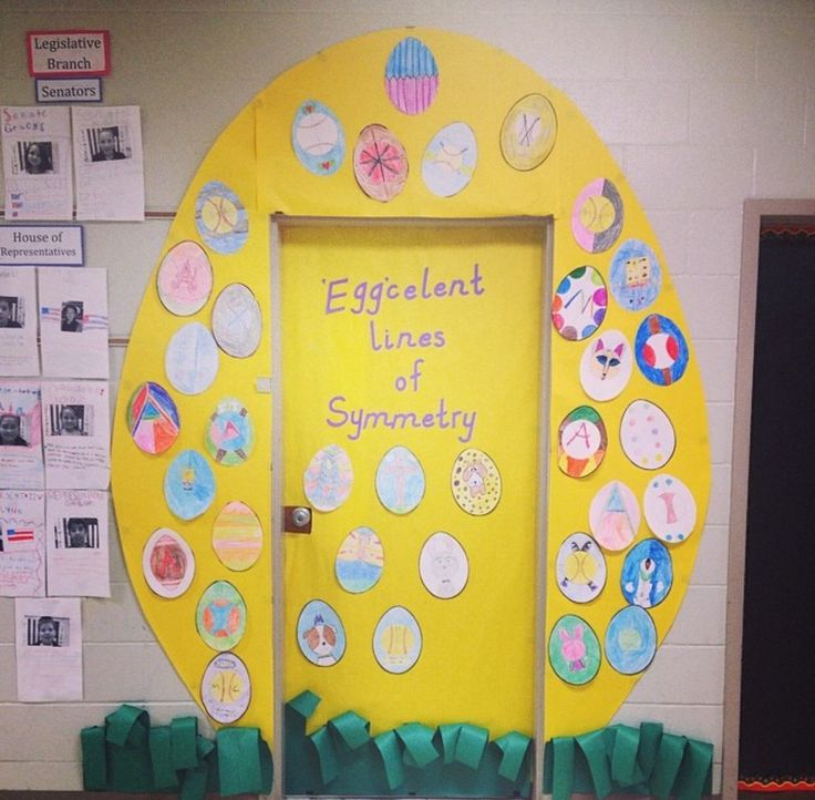 Classroom Ideas For Easter : Classroom door decorations for easter
