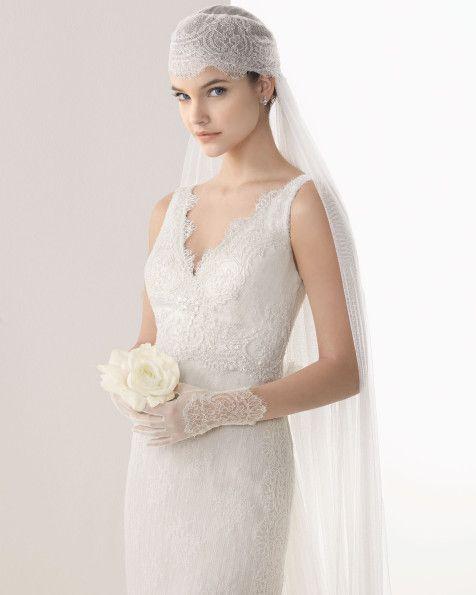 Canela velo de novia Rosa Clara