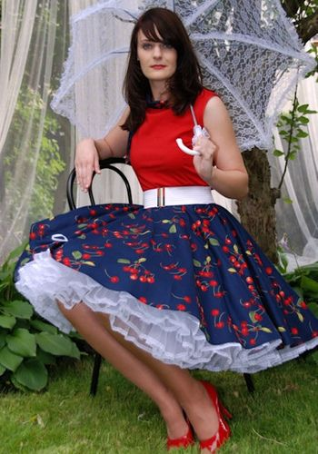 Cherry Skirt by elaineflowers1, via Flickr